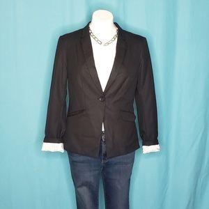 H&M Black Single Breasted Blazer size 10